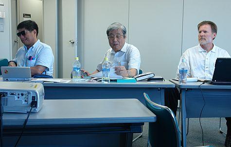 Yoshi Horiuchi, Fumio Kodama, Gery Metcalf