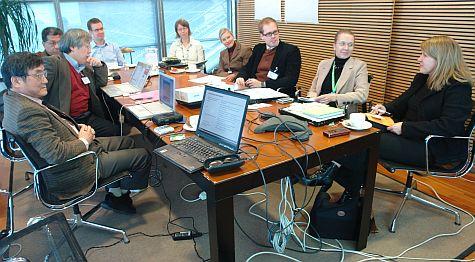 Rendez workshop at Nokia House, Hiroshi Deguchi speaking