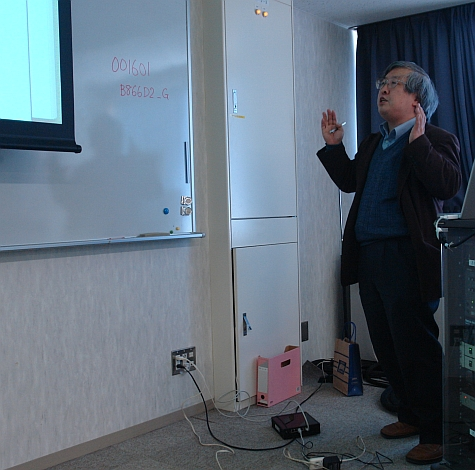SSME workshop, Hiroshi Deguchi