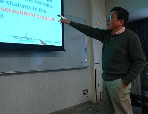 SSME workshop, Kyoichi Jim Kijima